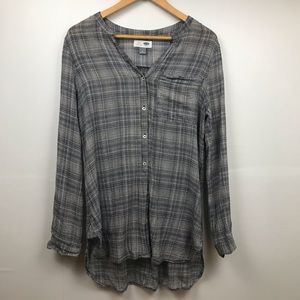Old Navy Black and White Tunic